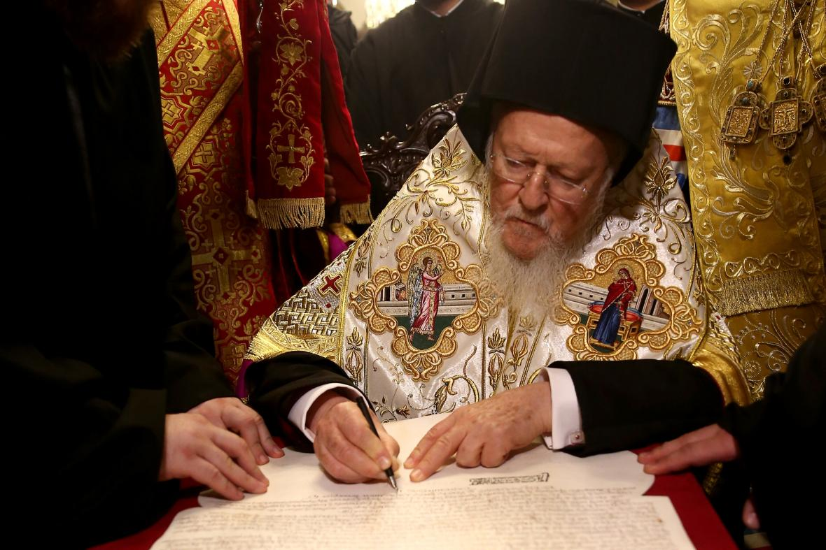 Ukrajinská pravoslavná církev je oficiálně nezávislá