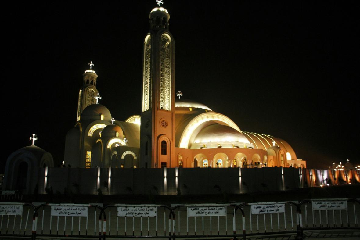 Koptský kostel v Egyptě je největší na Blízkém východě