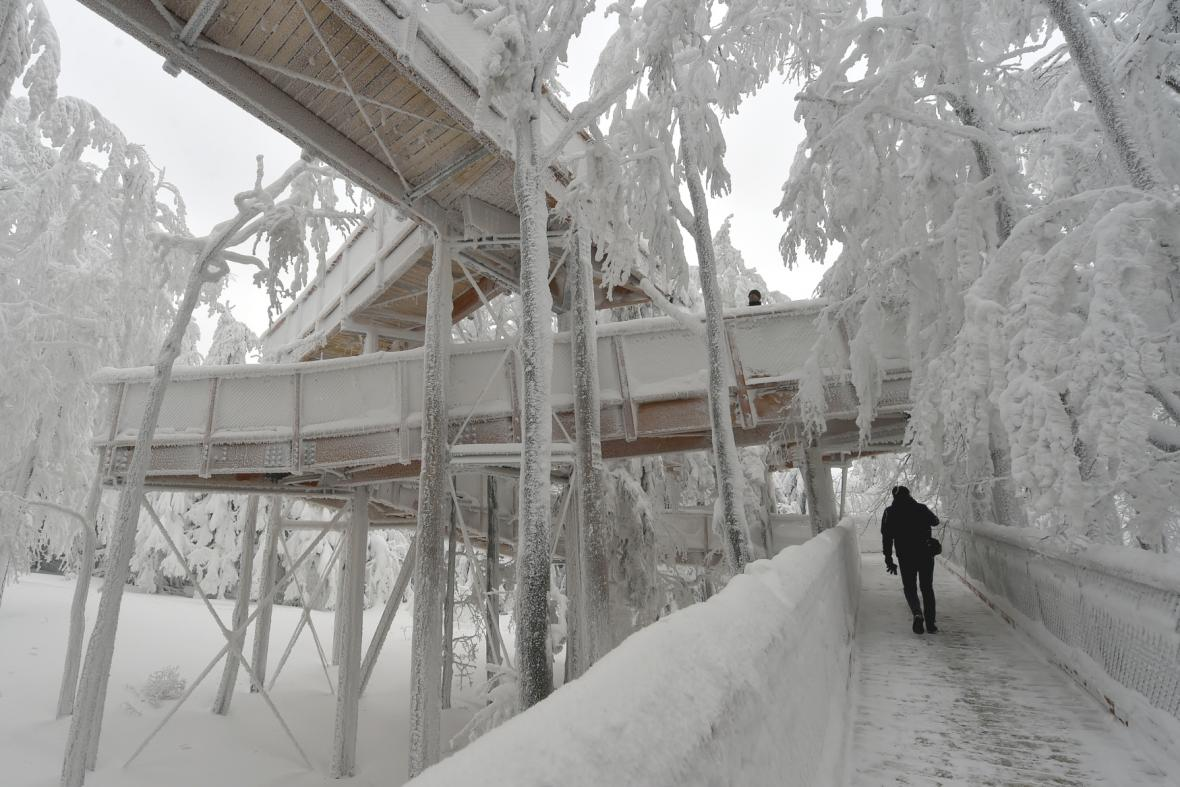 Nadzemní panoramatická Stezka Valaška