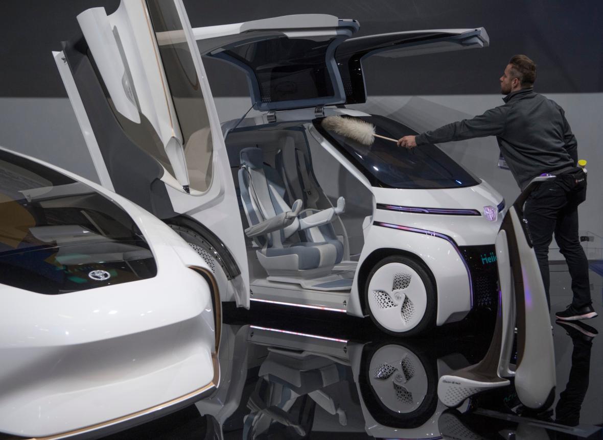 Autosalon v Detroitu 2019