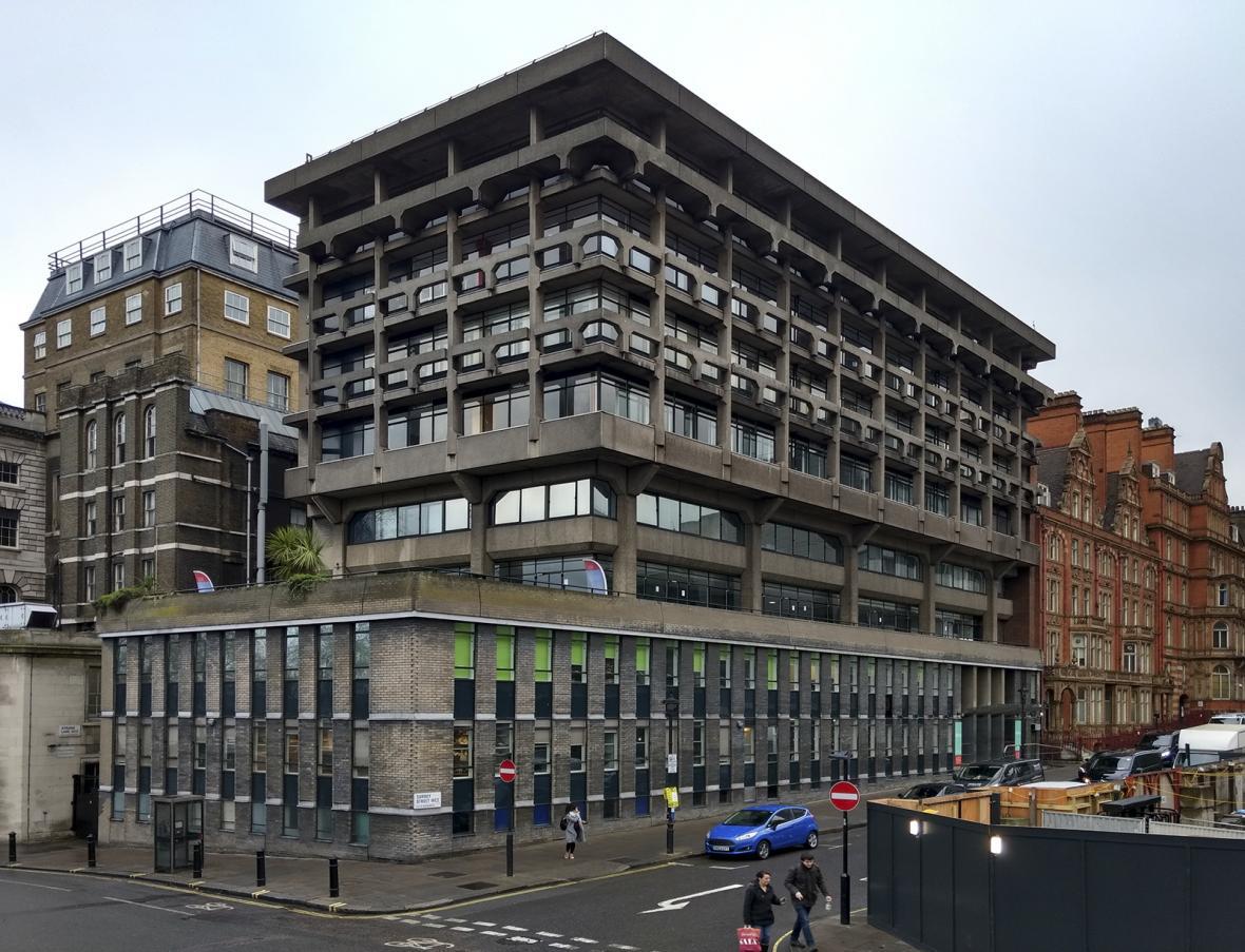 Ohrožené brutalistické stavby v Evropě