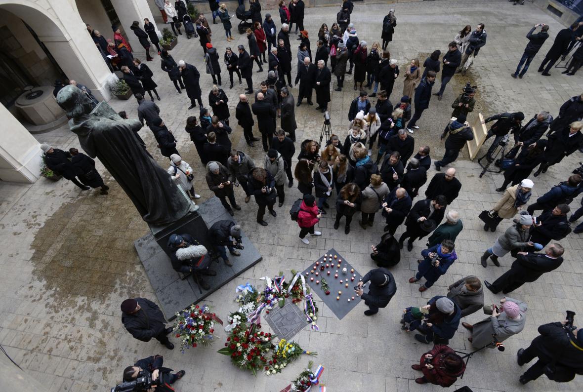 Připomínkové akce k 50. výročí upálení Jana Palacha