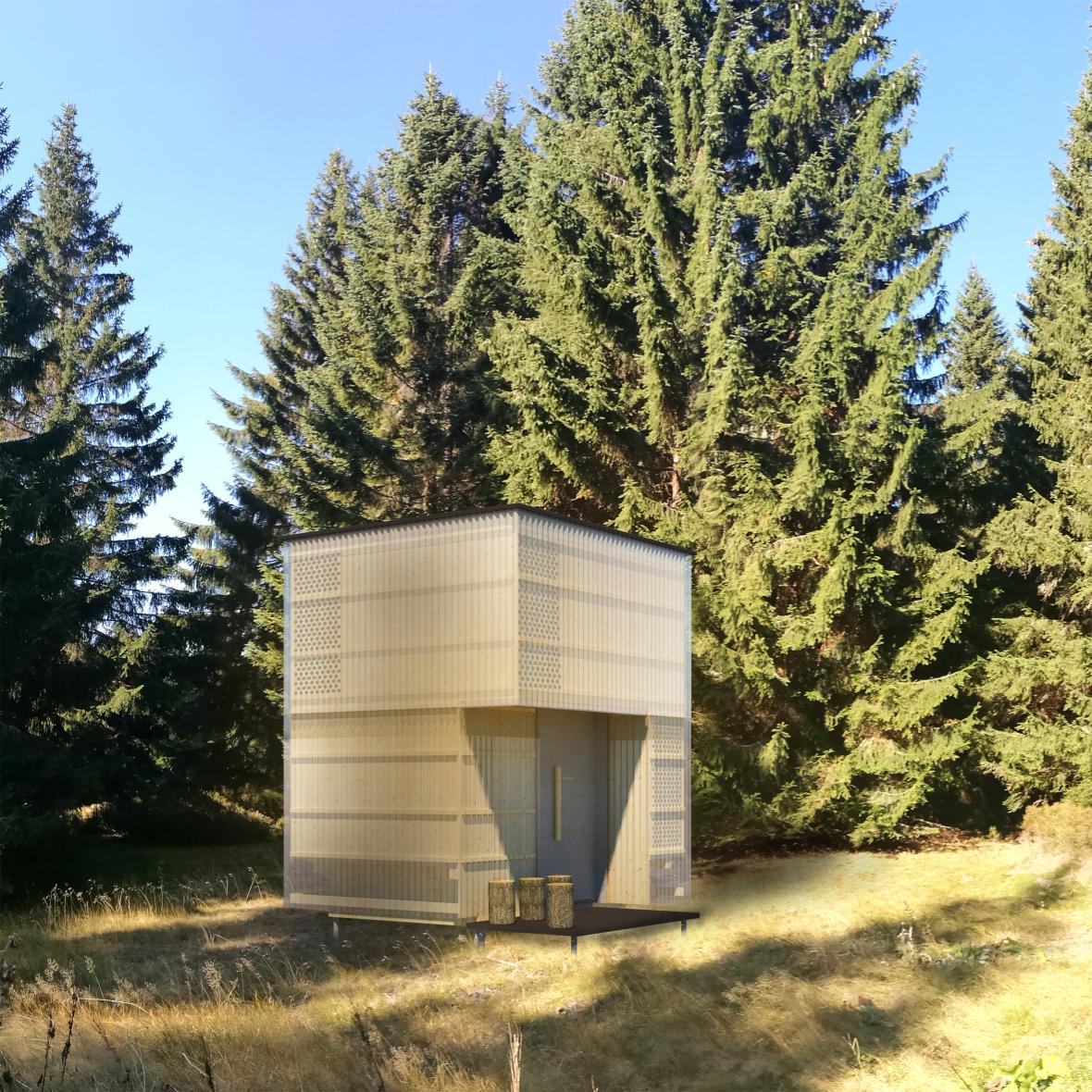 Krkonošské útulny od studentů architektury ČVUT