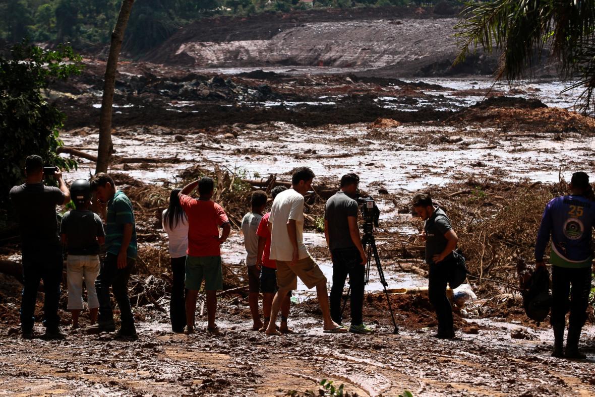Protržení nádrže v Brazílii