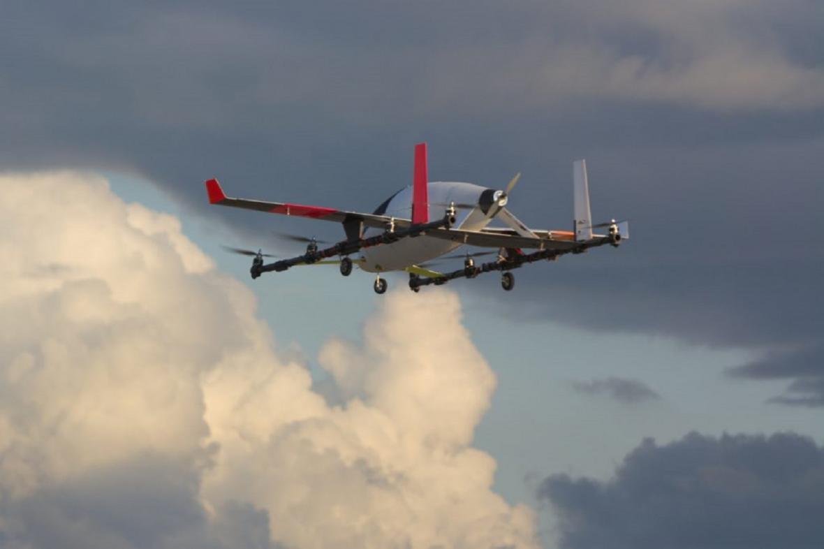 eVtol - první létající elektromobil