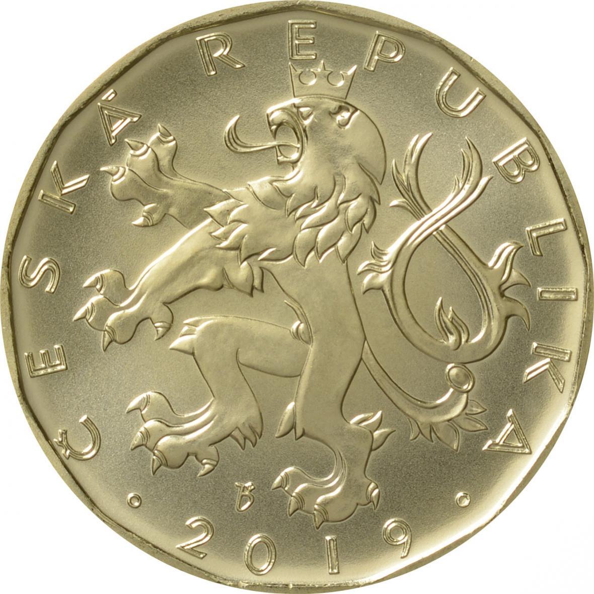 Nové mince ke 100. výročí zavedení československé měny