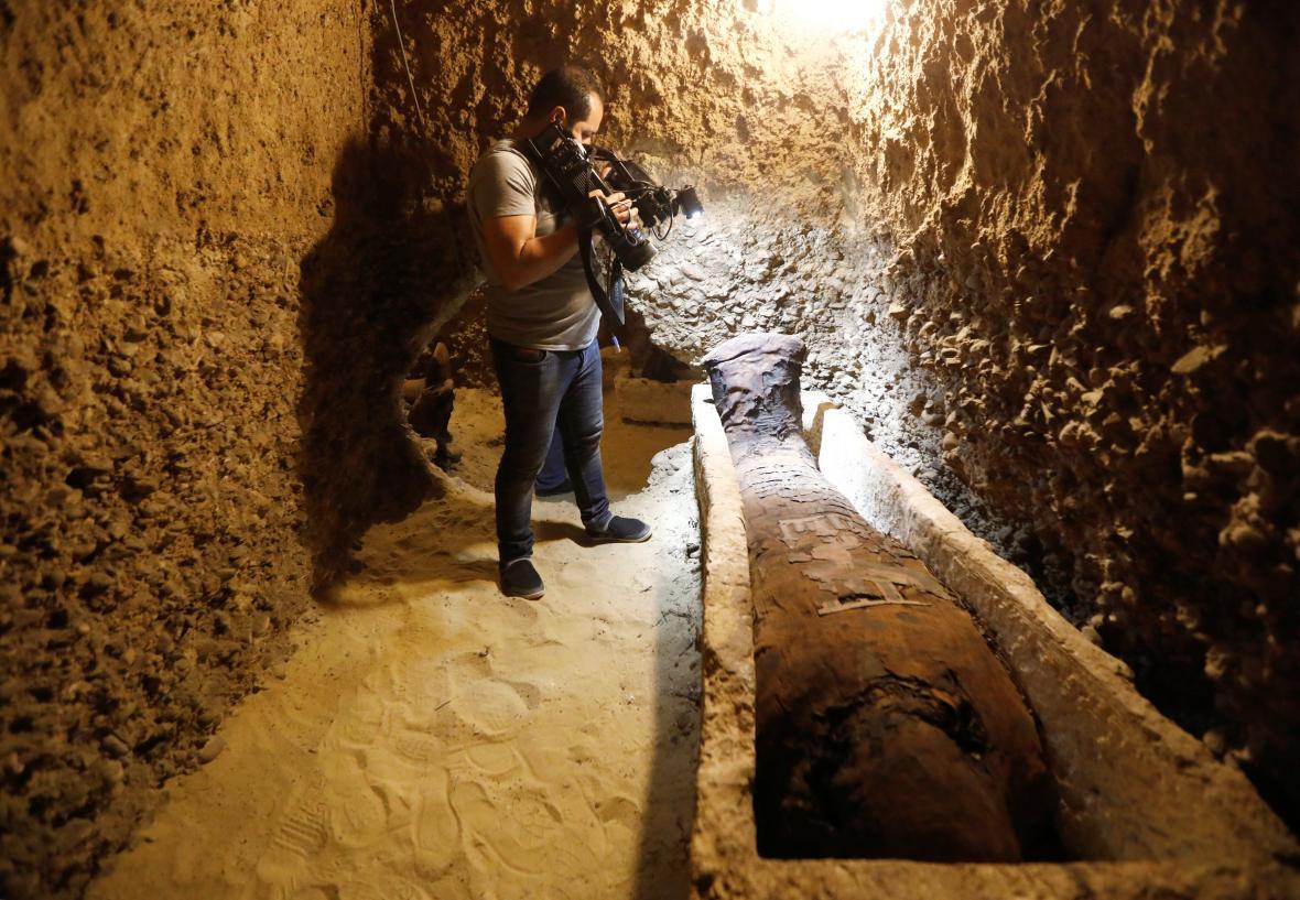 Objev 40 mumií v Egyptě