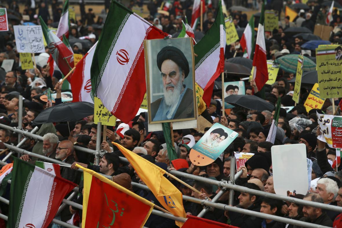 Oslavy 40 let islámské revoluce v Íránu