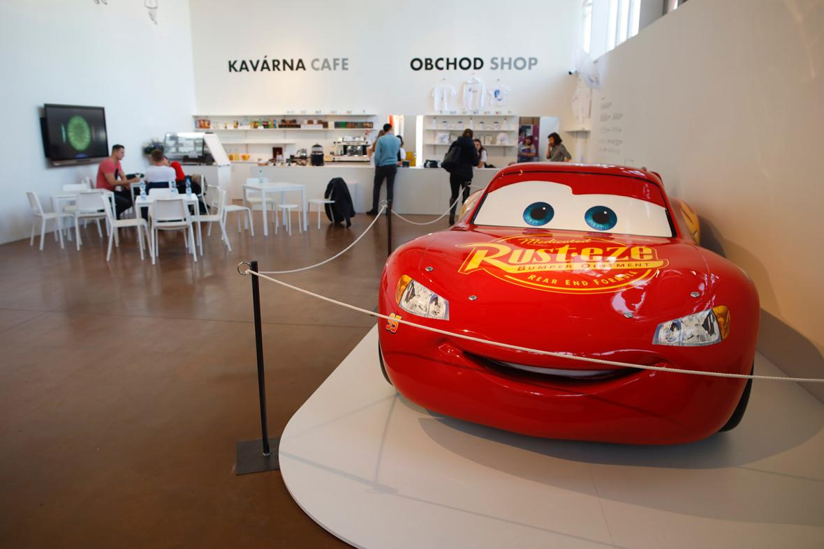 Výstava 30 let studia Pixar na pražském Výstavišti