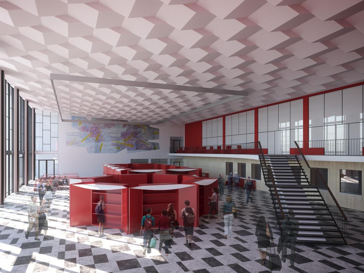 Možná podoba rekonstrukce havířovského nádraží