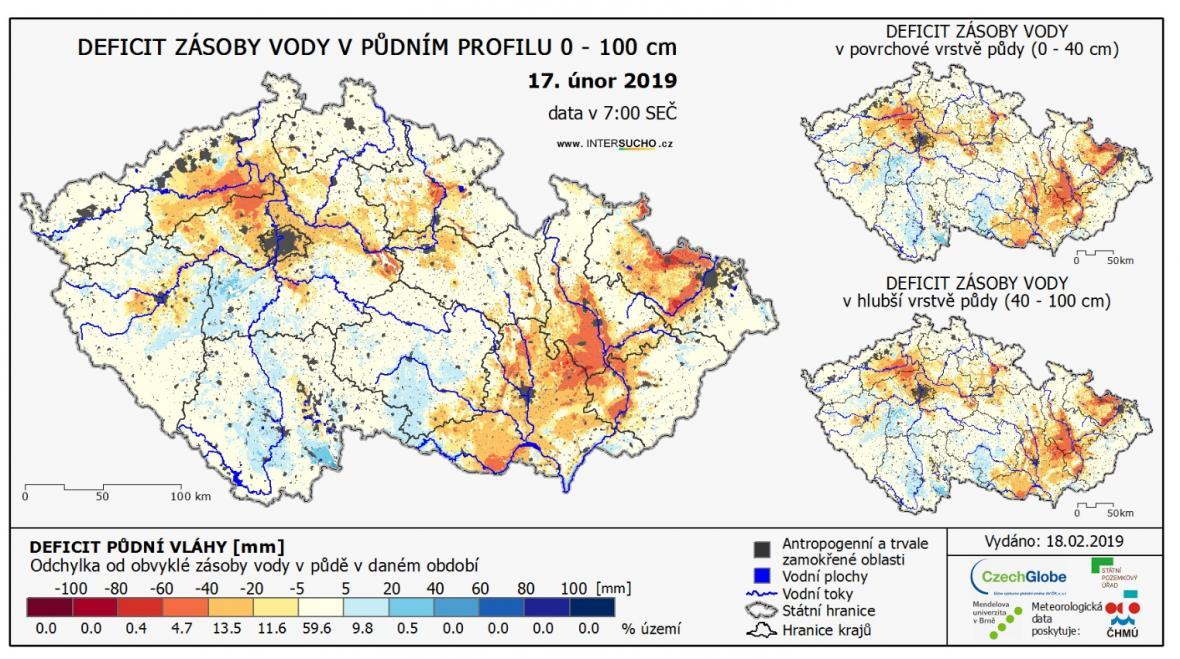 Aktuální stav sucha