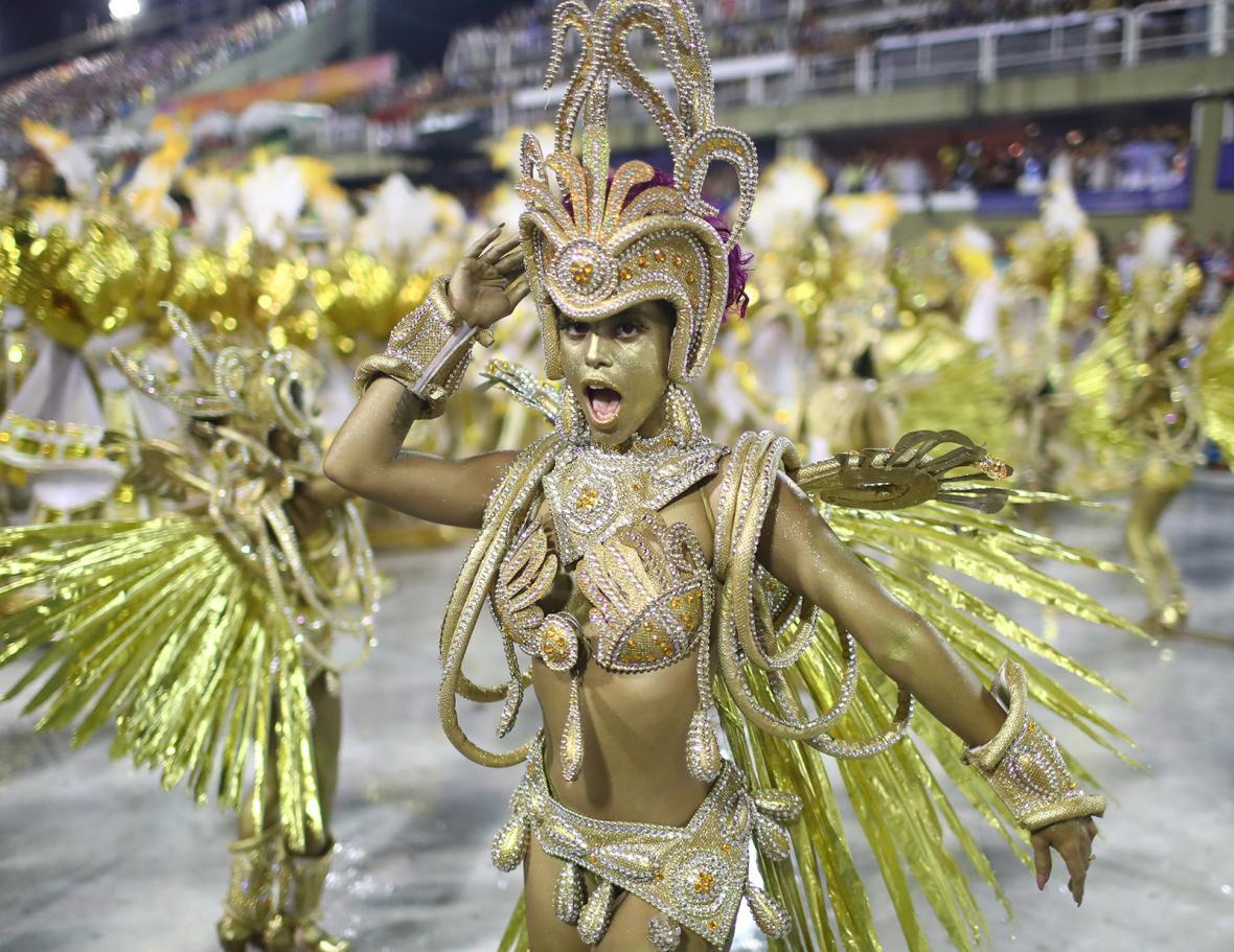 Karneval v Riu de Janeiro 2019