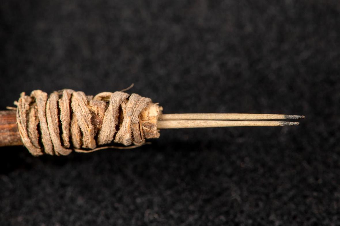 Tetovací nástroj starý 2000 let