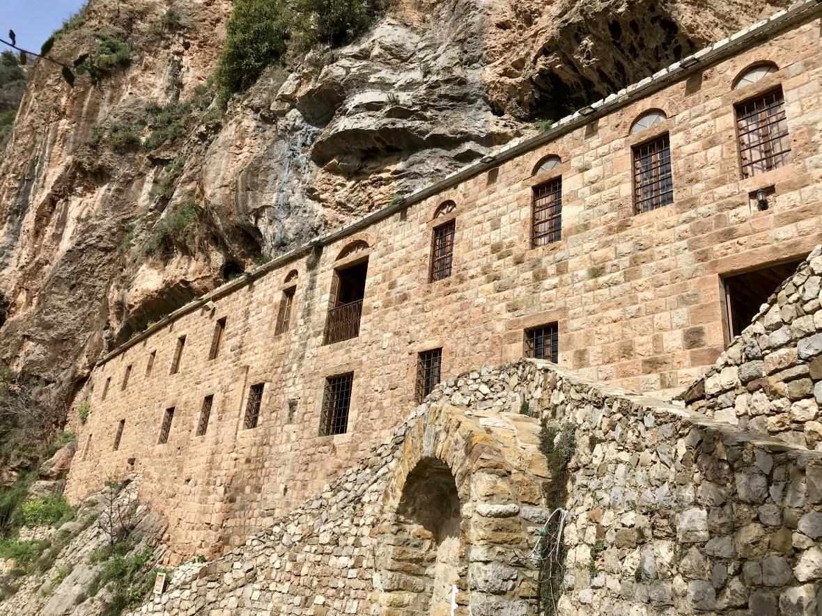 Maronitský klášter v údolí Kadíša