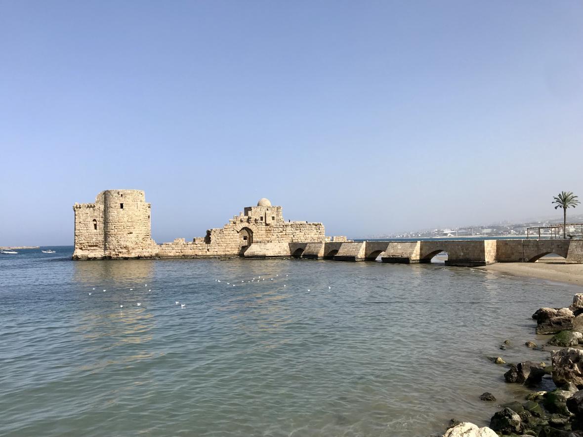 Mořský hrad v Sidónu