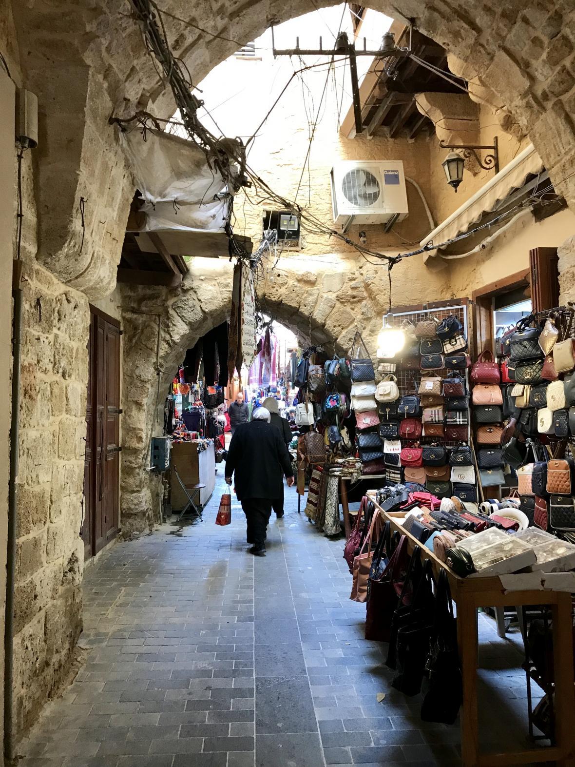 Súk v Sidónu
