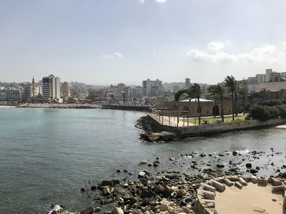 Sidón leží mezi Bejrútem a Týrem na jihu země