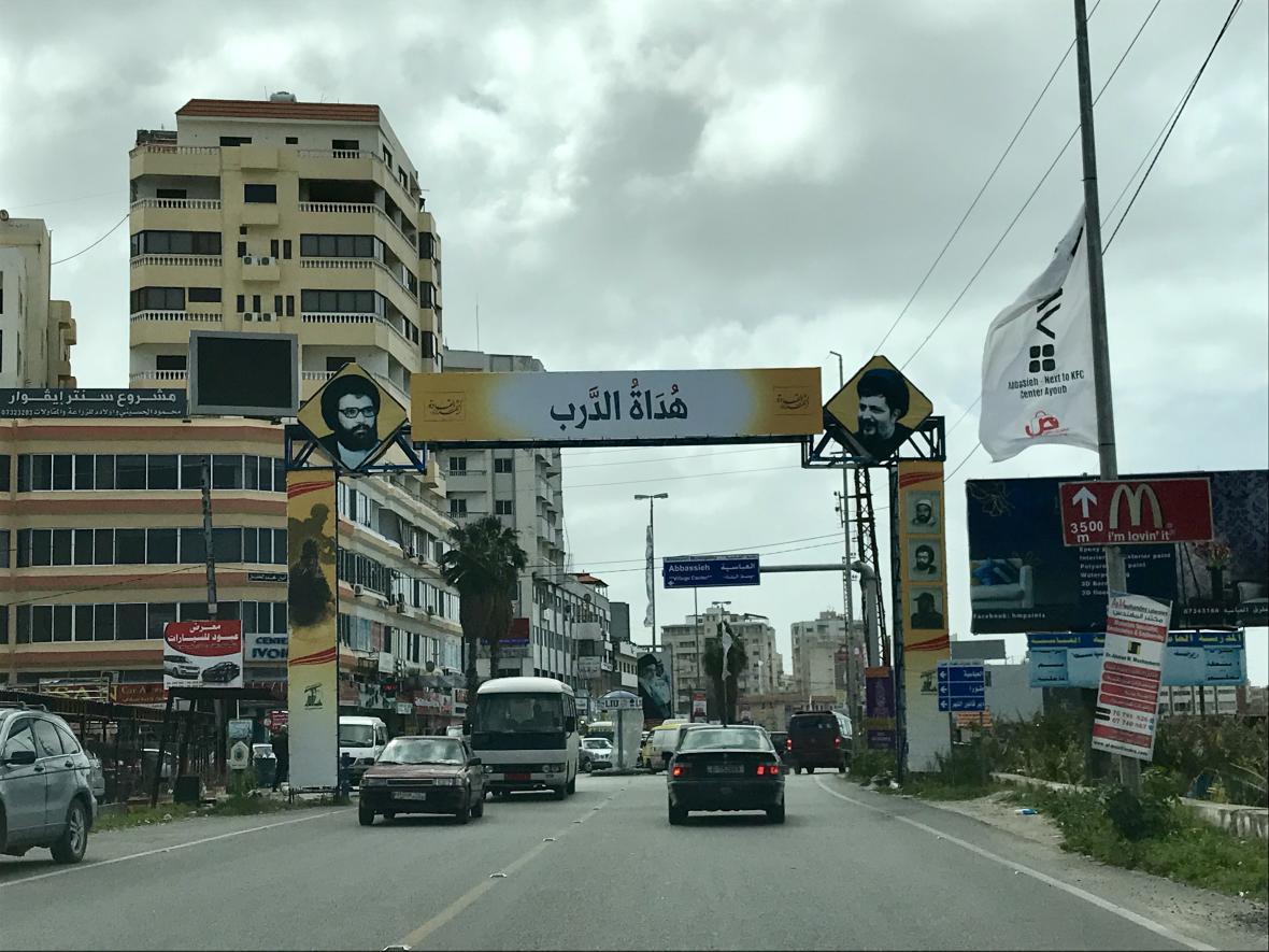 Příjezd do jiholibanonského Týru