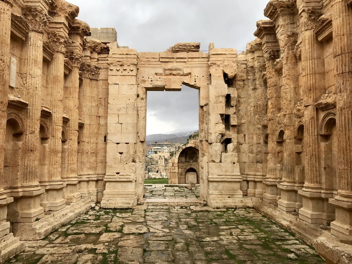 Bakchův chrám v Baalbeku