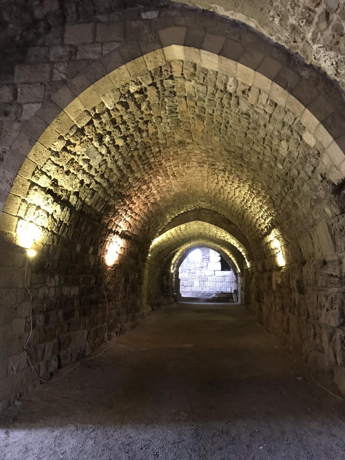 Křižácký hrad v Byblosu
