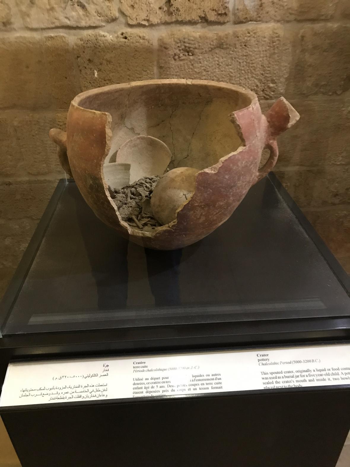 Starodávný způsob pohřbívání do velkých nádob
