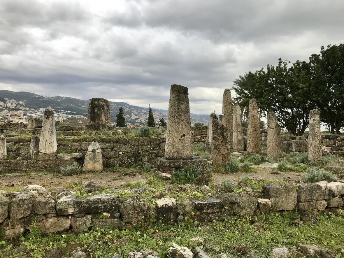 Chrám obelisků v Byblosu