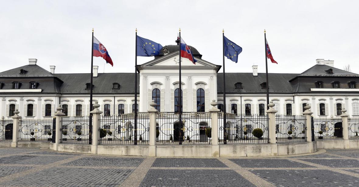 Grasalkovičův palác, sídlo slovenského prezidenta