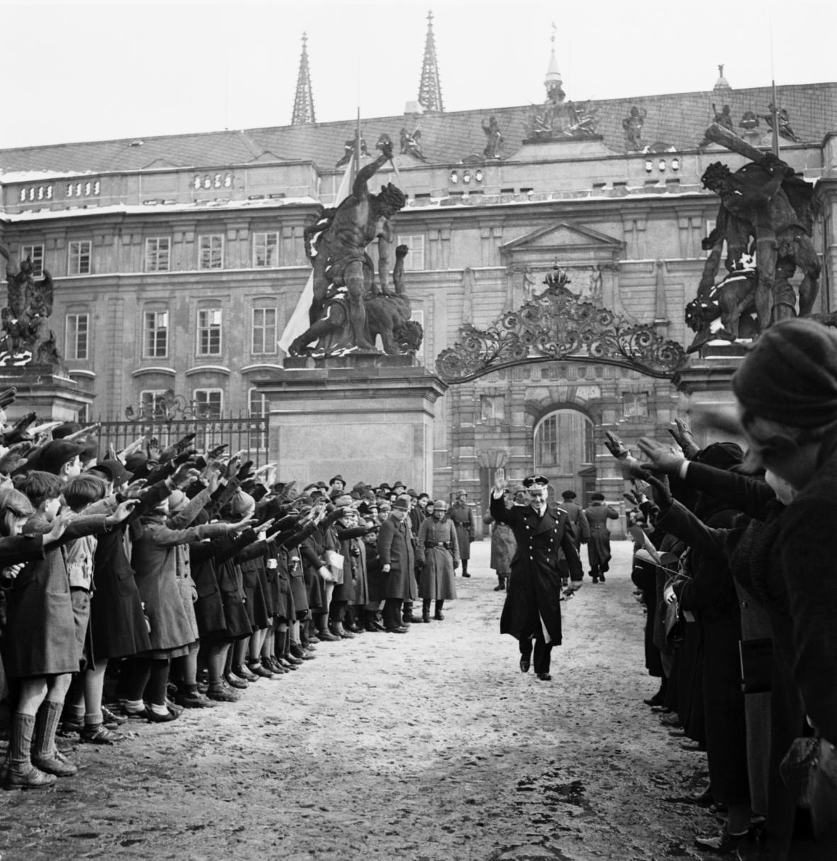 Okupace ČSR německými vojsky v březnu 1939