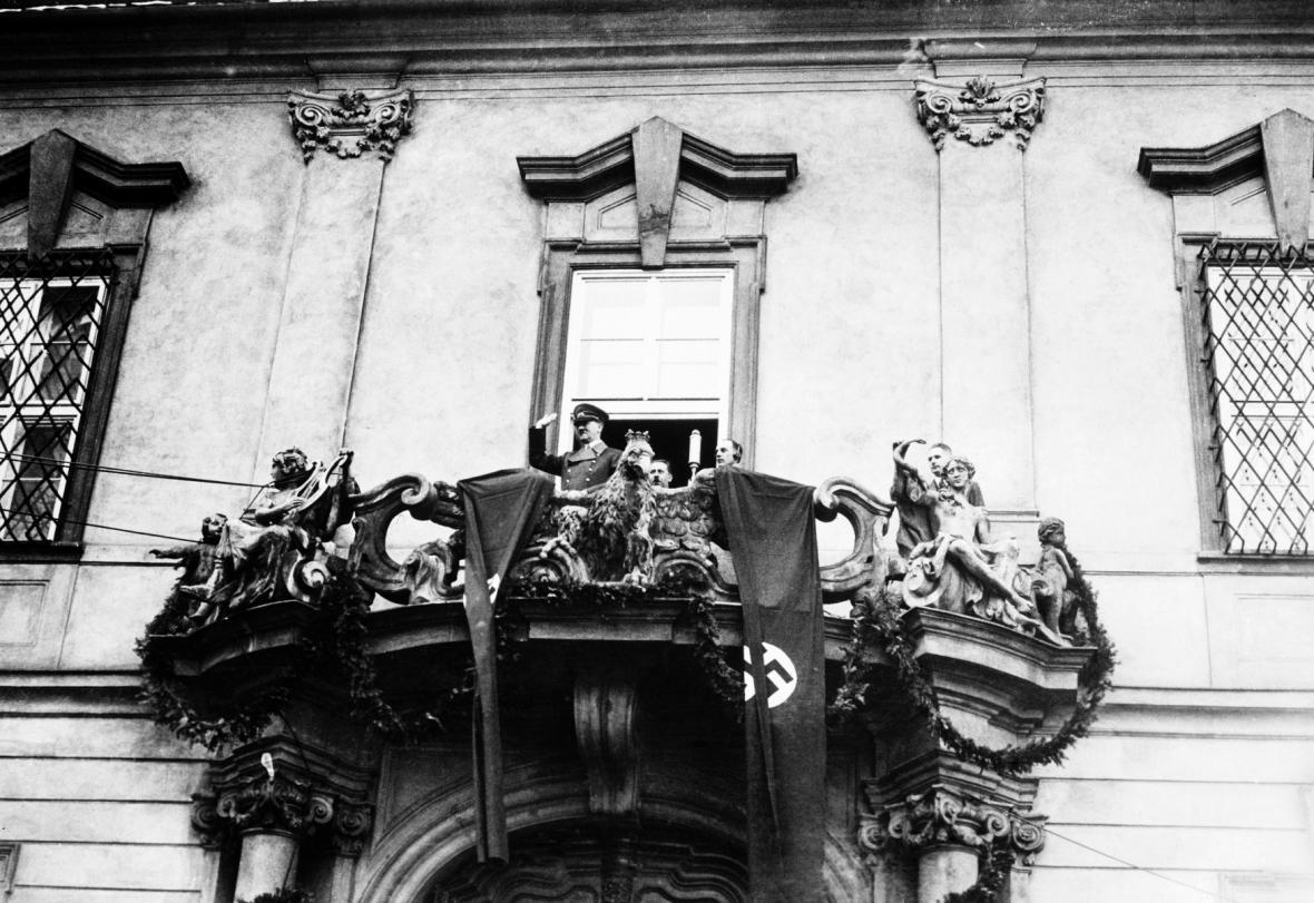 Adolf Hitler v Brně 17. března 1939