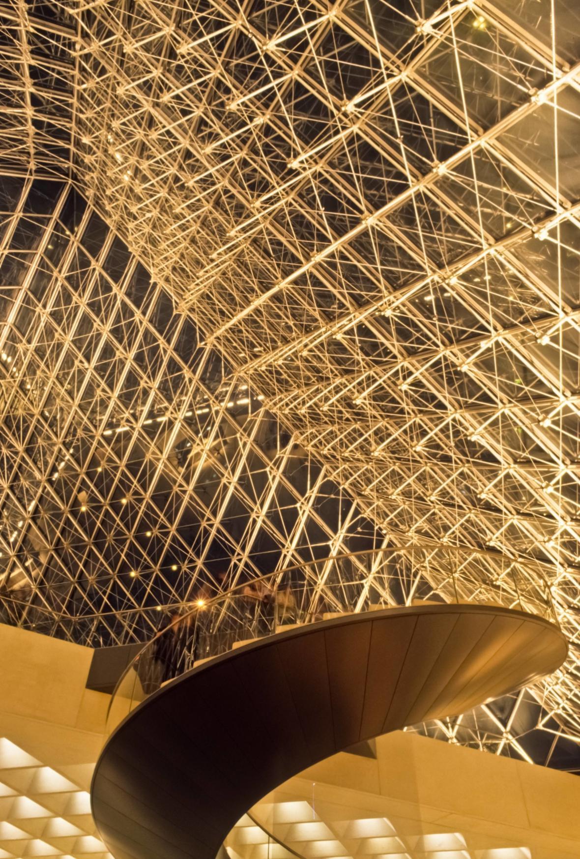 Pyramida v Louvru je prosklená pyramida na hlavním nádvoří Paláce Louvre, která slouží jako hlavní vchod do muzea Louvre v Paříži.