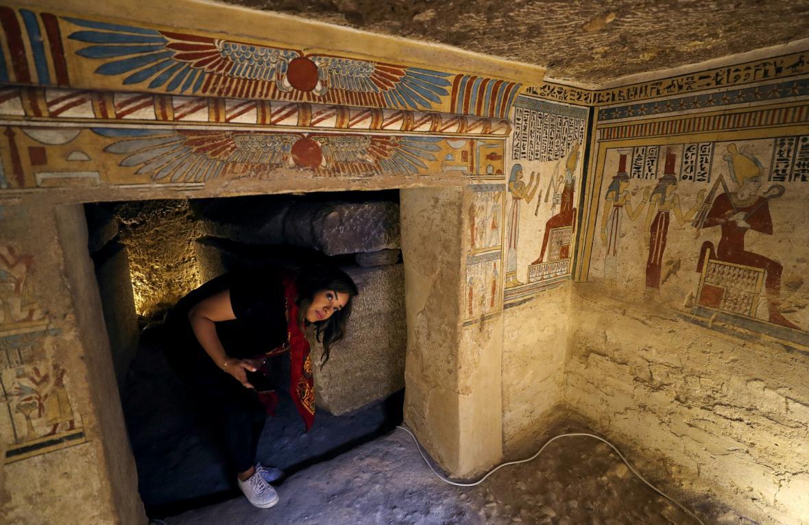 Egyptská hrobka stará 2000 let