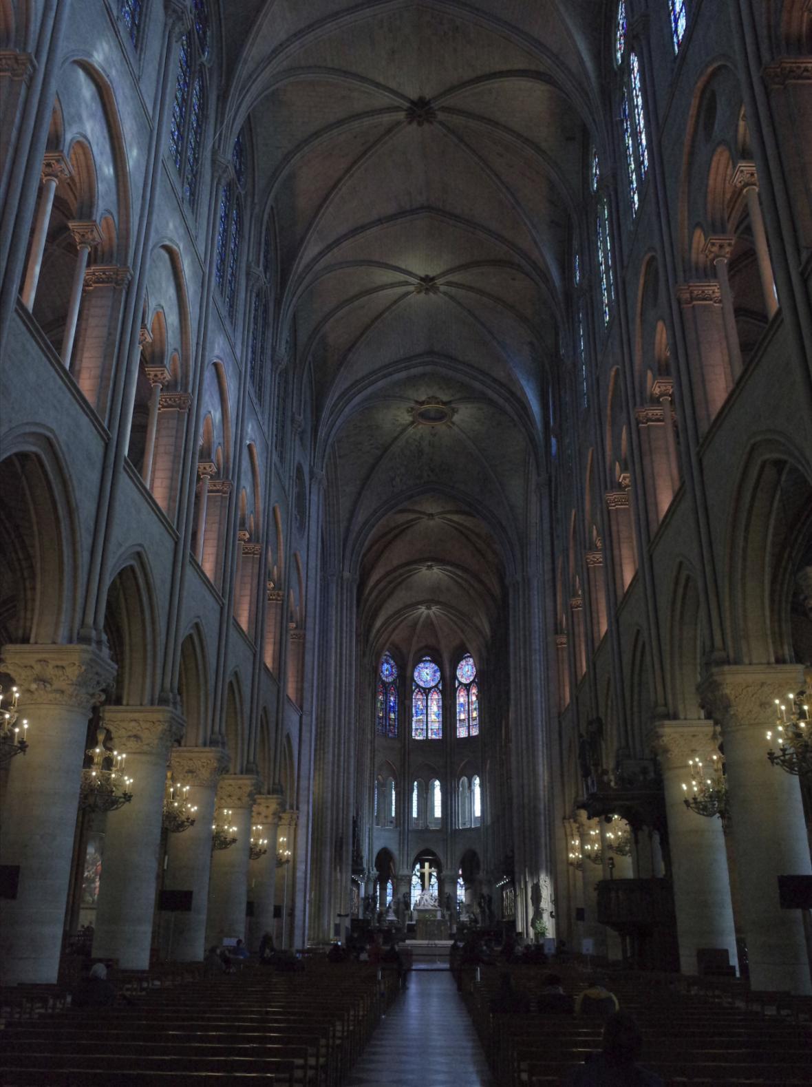 Notre-Dame před požárem