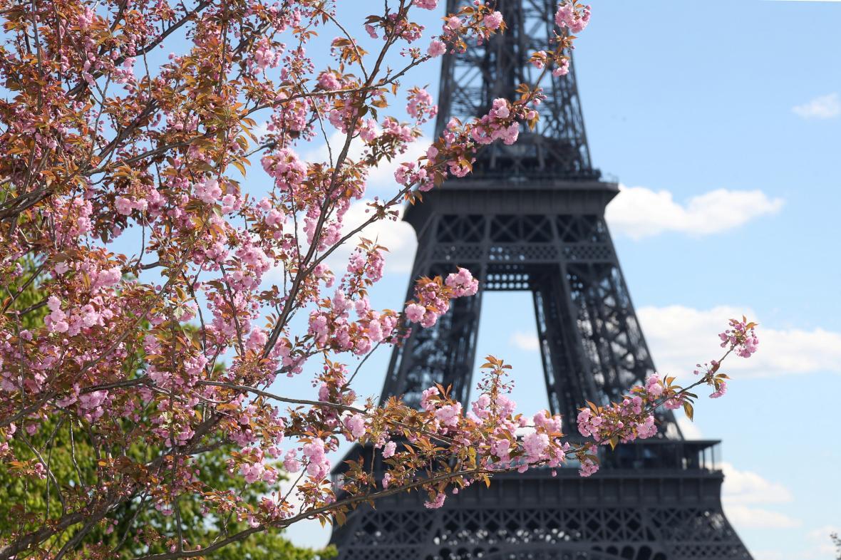 Jaro u pařížské dominanty