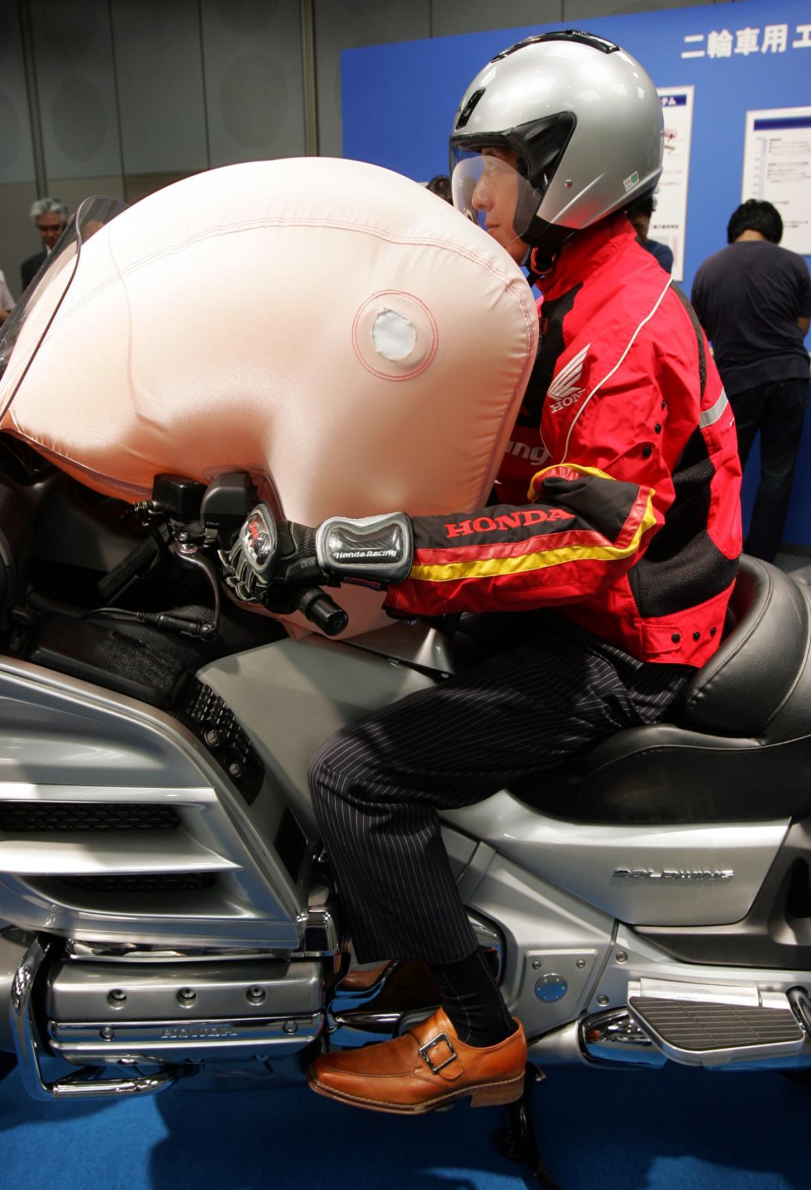 Speciální airbagy pro motorky