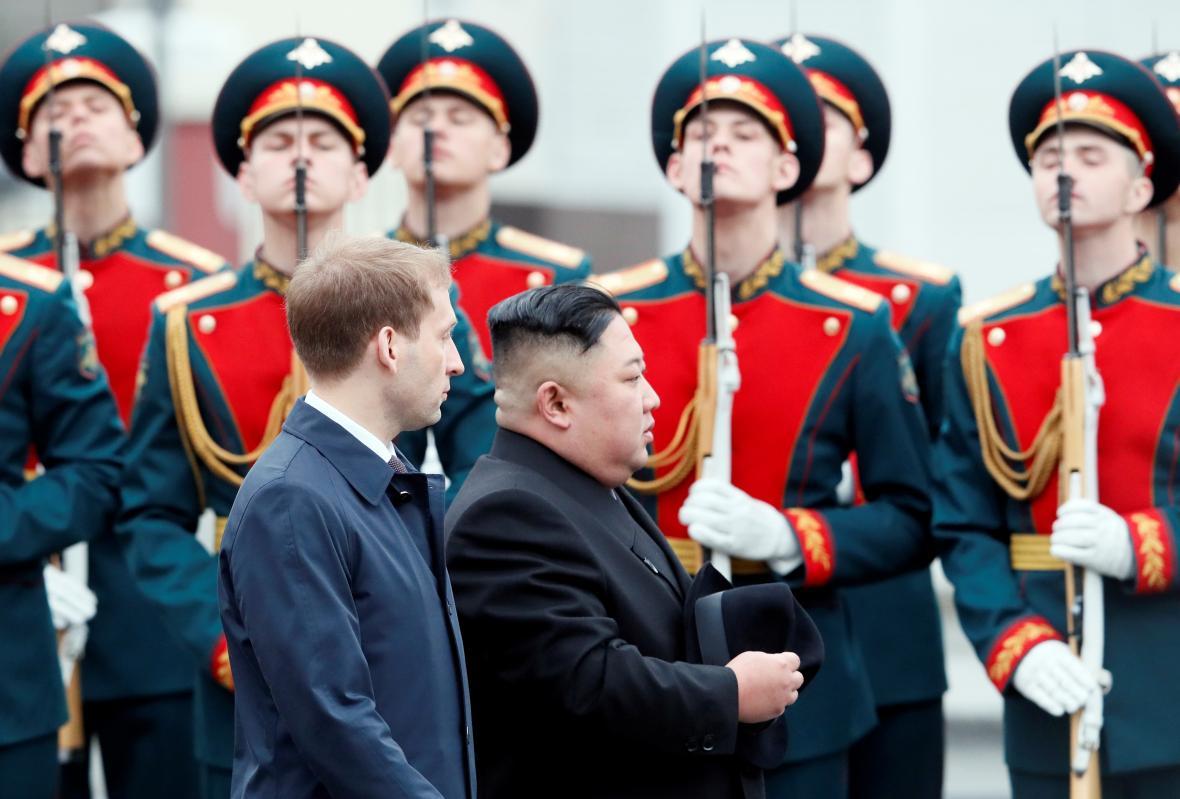 Kim Čong-un přijel do ruského Vladivostoku