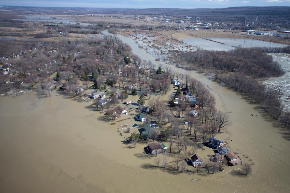 Povodeň v Kanadě
