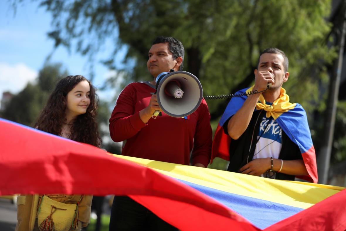 Guaidó vyzval Venezuelany, aby vyšli do ulic