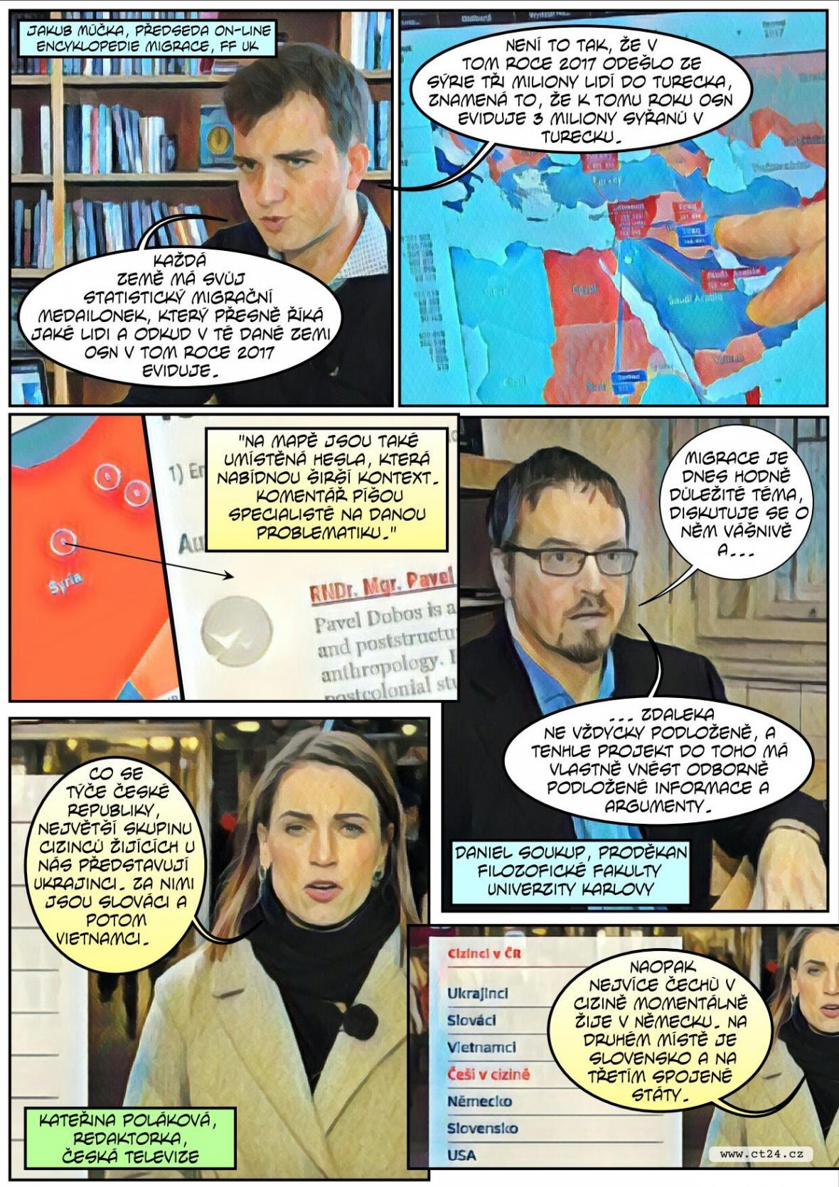 komiks migrace