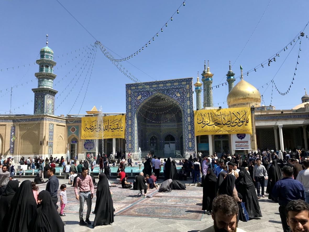 Íránský Qom je konzervativní město