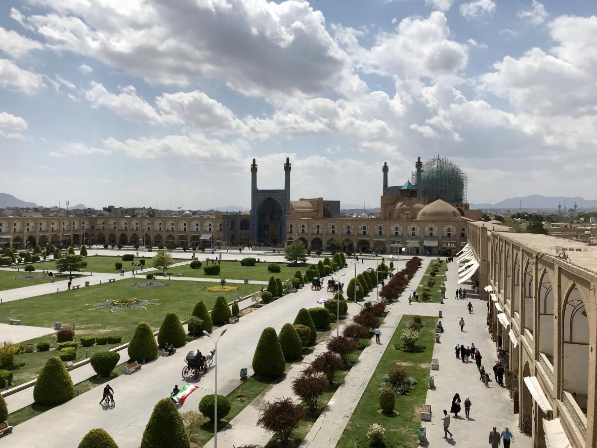 Náměstí  Nakš-e džahán v Isfahánu