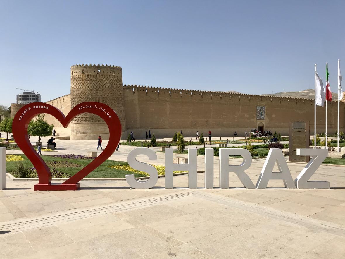Citadela v Šírázu