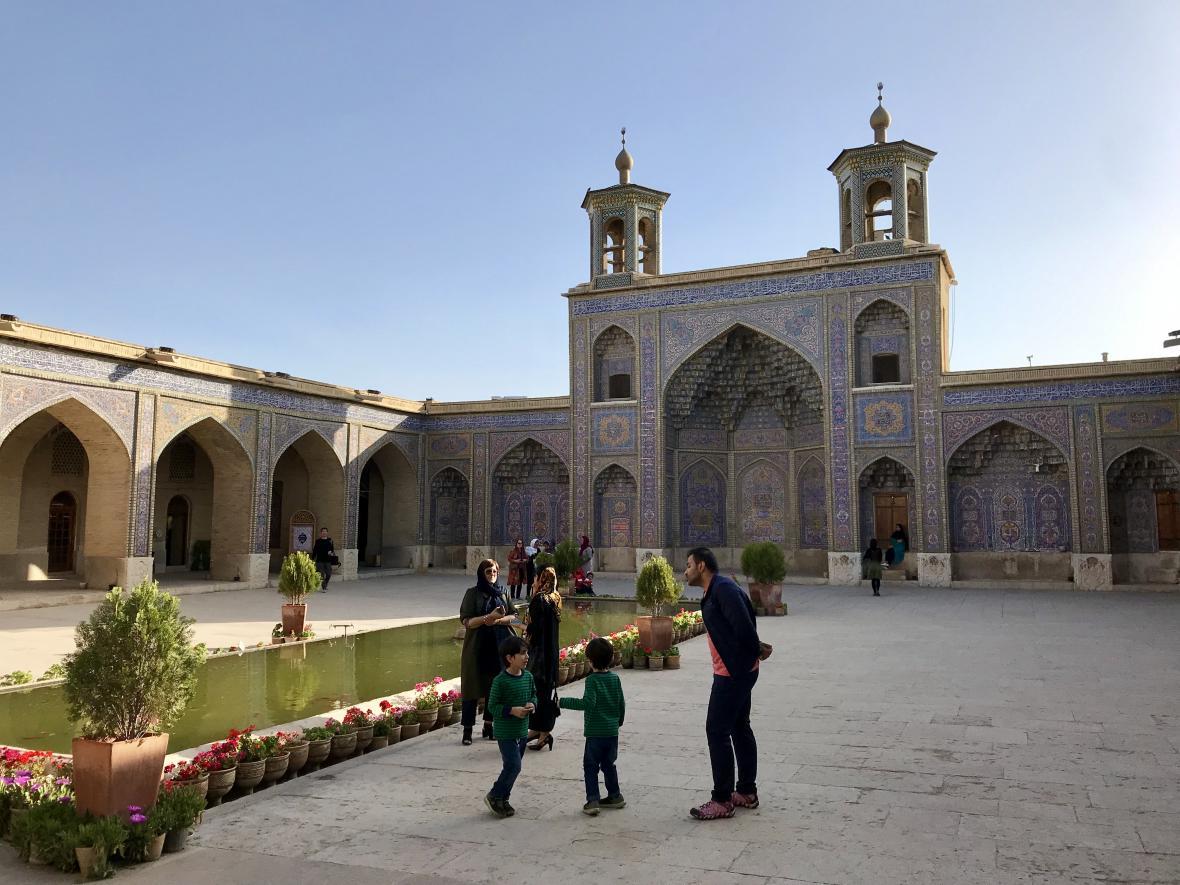 Růžová mešita v Šírázu