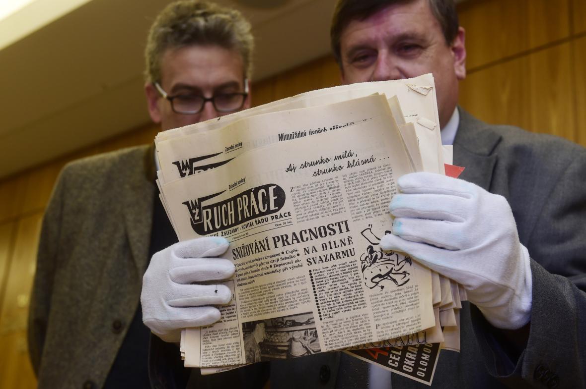 Závodní noviny Moravských železáren z 16. června 1962