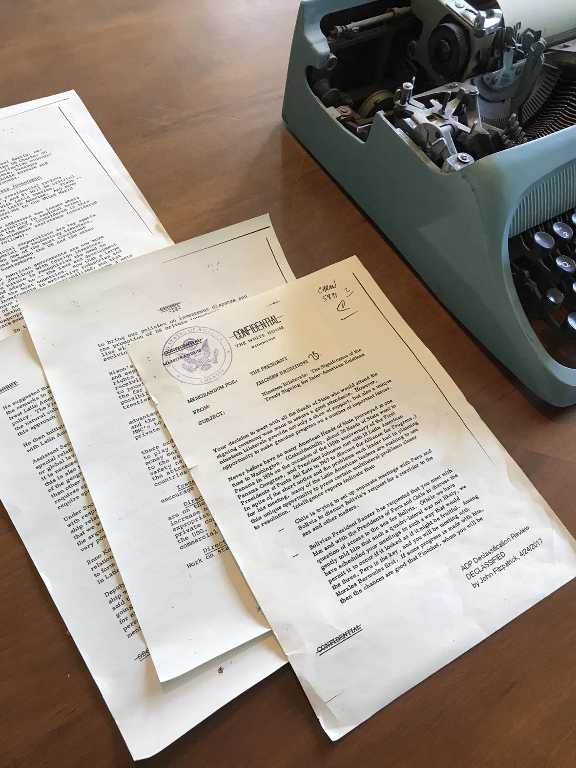 Odtajněné dokumenty