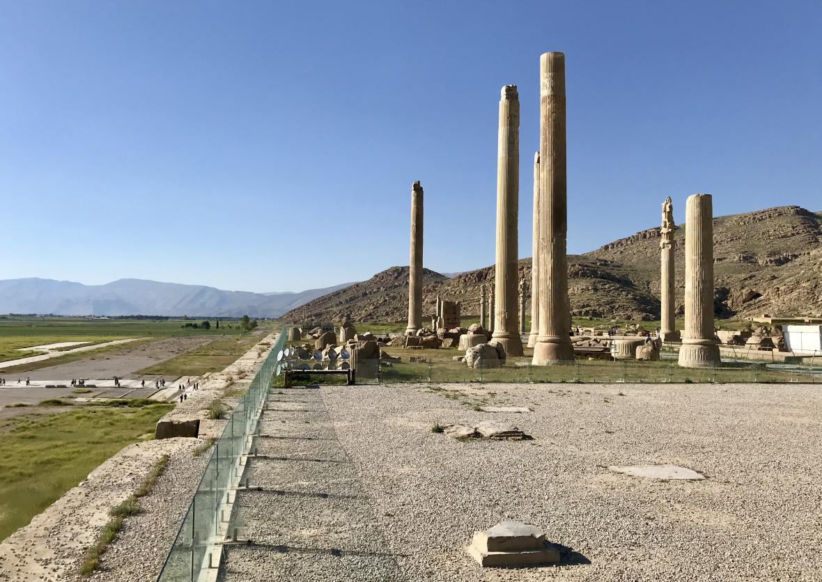 Ruiny starověké Persepole