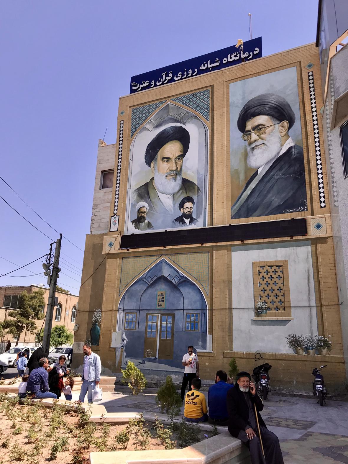 Íránské město Qom je bašta šíitů