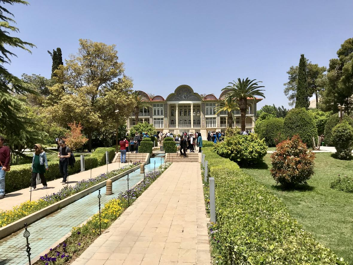 Zahrada Eram v Šírázu