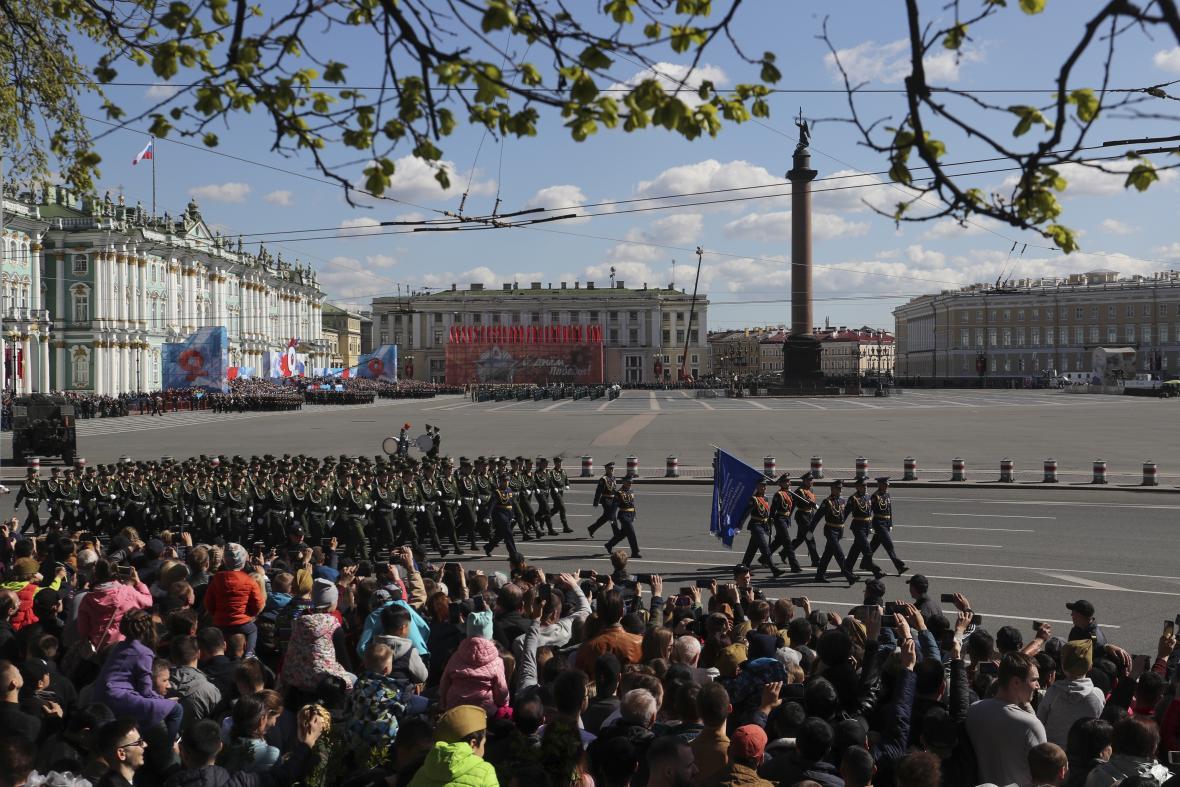 Vojenská přehlídka v Moskvě
