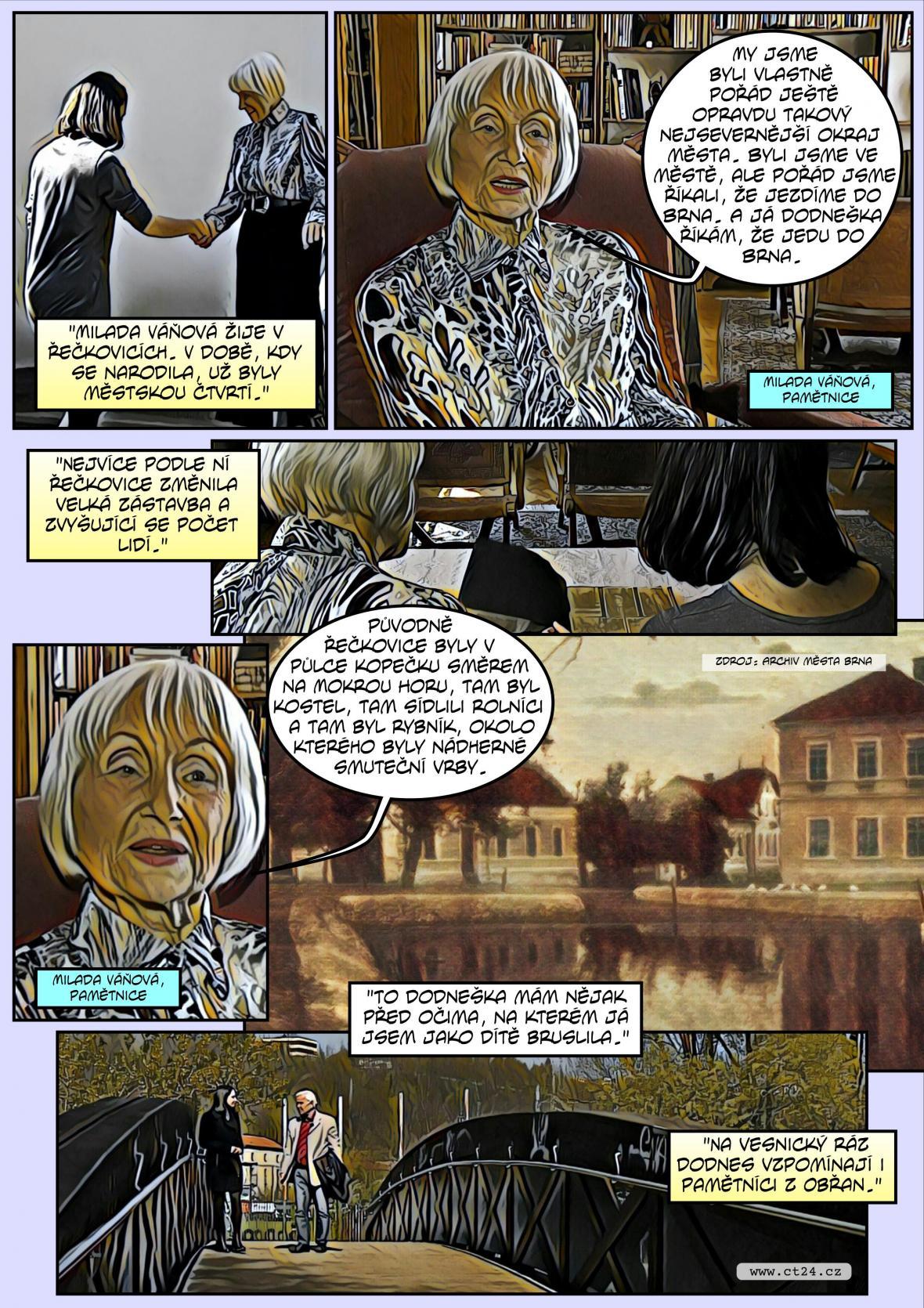 Komiks: Sto let od vzniku Velkého Brna