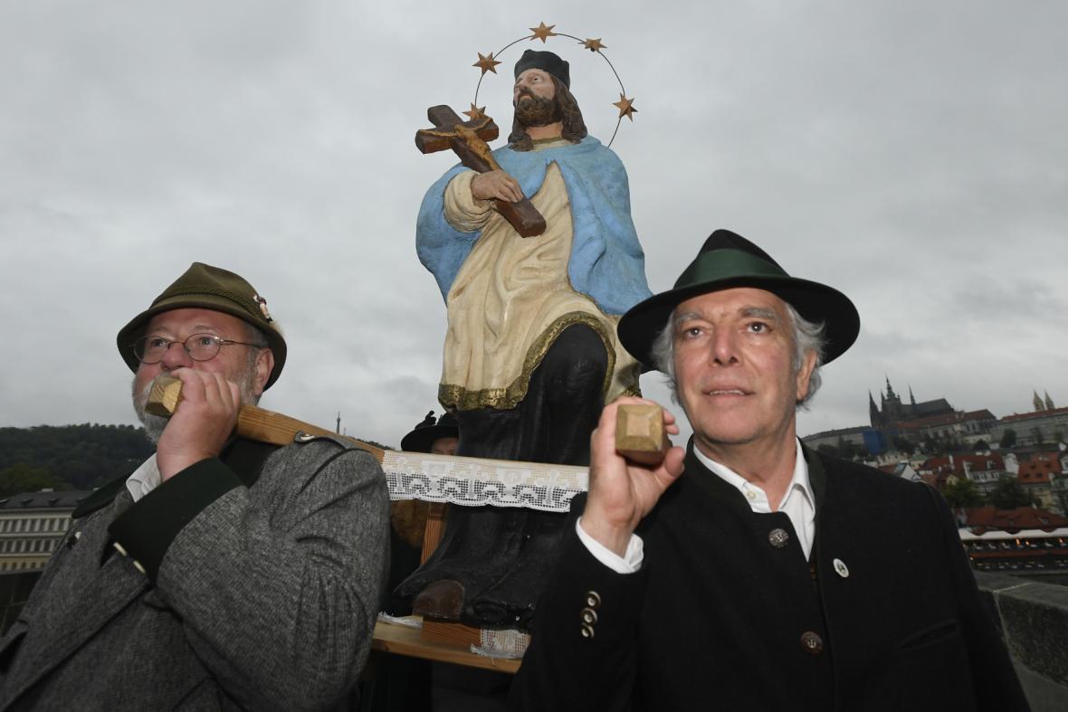 Svatojánské slavnosti k poctě sv. Jana Nepomuckého